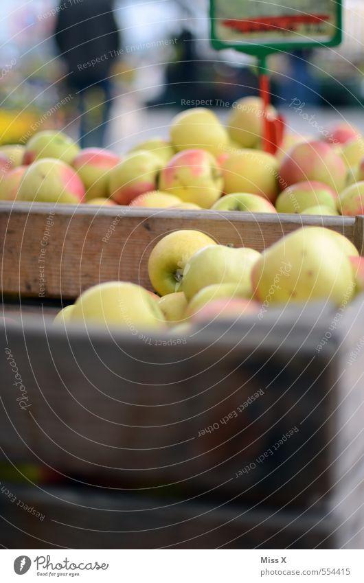 Apfelkiste Gesundheit Lebensmittel Frucht frisch Ernährung süß kaufen lecker Bioprodukte Kiste saftig Diät Marktplatz verkaufen Vegetarische Ernährung
