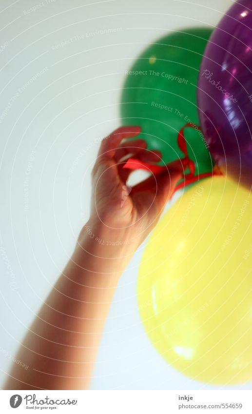 Spaßgesellschaft | Leichtigkeit Mensch Frau Jugendliche Mann Hand Freude Erwachsene Leben Gefühle Feste & Feiern Party Stimmung fliegen Freizeit & Hobby Tanzen