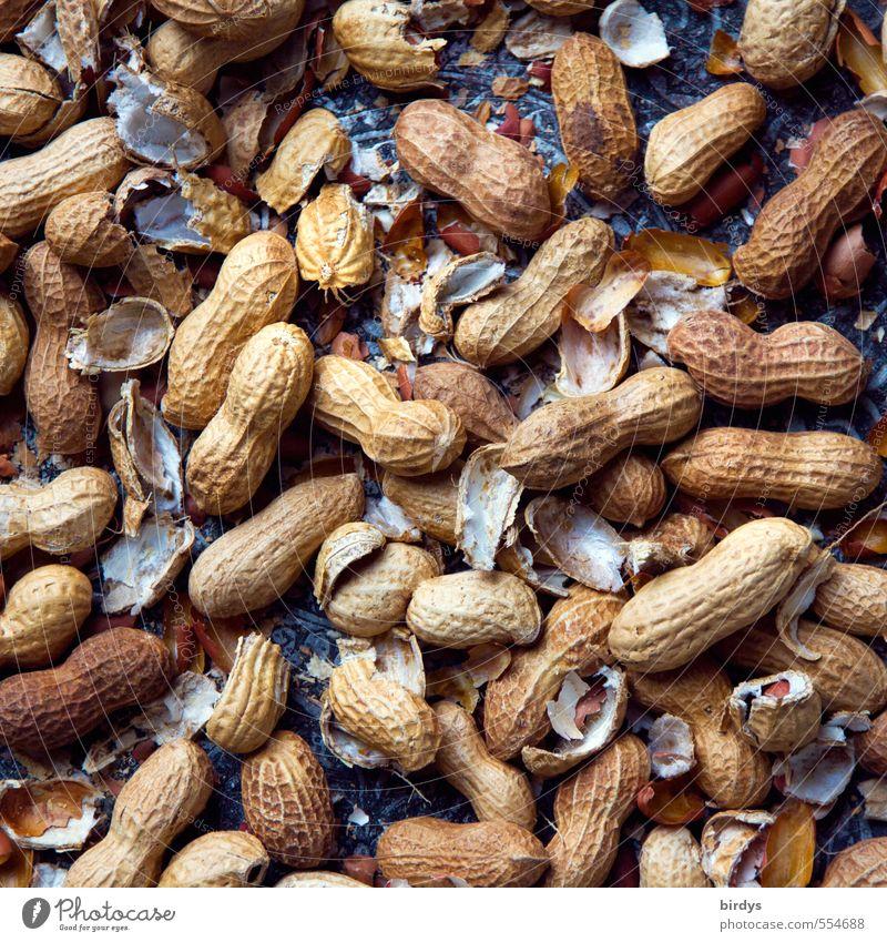 Kann Spuren von Nüssen enthalten Lebensmittel Nuss Erdnuss Nussschale Ernährung Bioprodukte authentisch Gesundheit lecker positiv gefräßig genießen