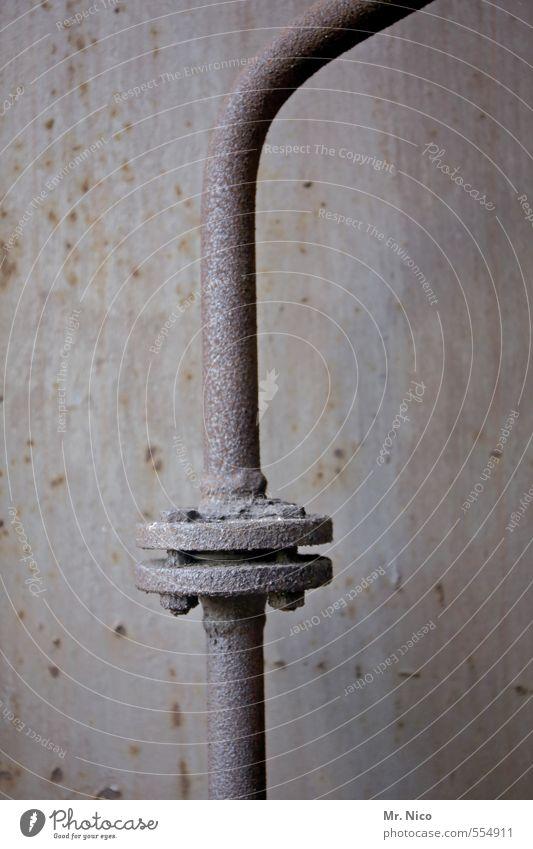 !Trash! 2013 | schrott Technik & Technologie Energiewirtschaft Industrie alt Flansch Schrott Verbindung Eisenrohr Schraube Abwasser Kanalisation Rohrleitung