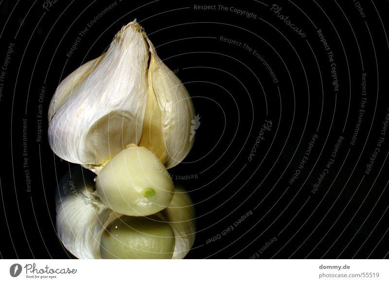 Knoblauch weiß schwarz Haut Spiegel Kräuter & Gewürze Geruch Zehen Kochen & Garen & Backen Gemüse Würzig