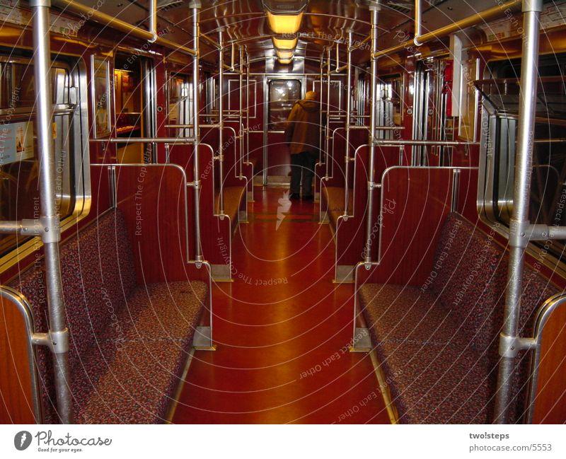 U-Bahn Wagen Stadt Führerhaus