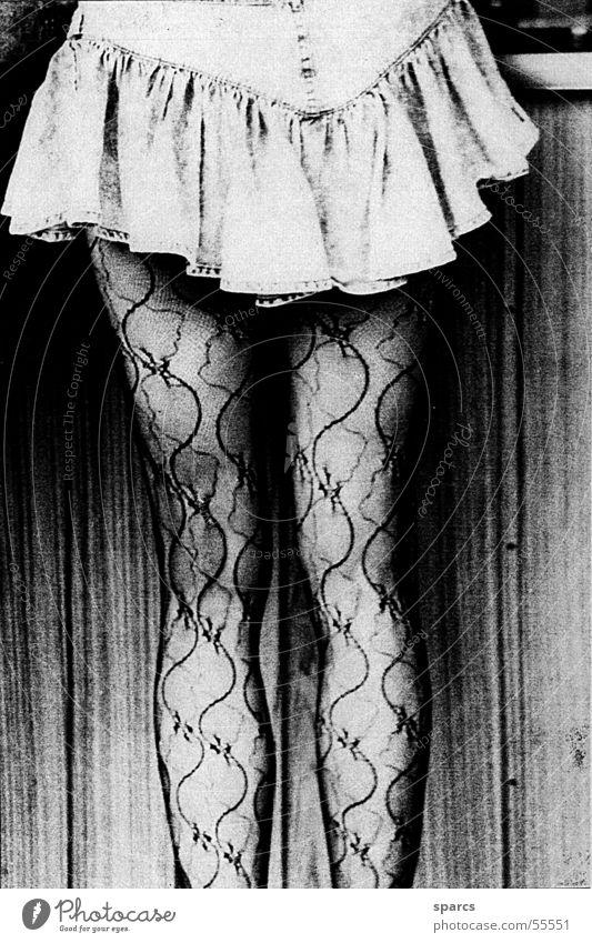 beine schön Beine Bekleidung Strümpfe Minirock