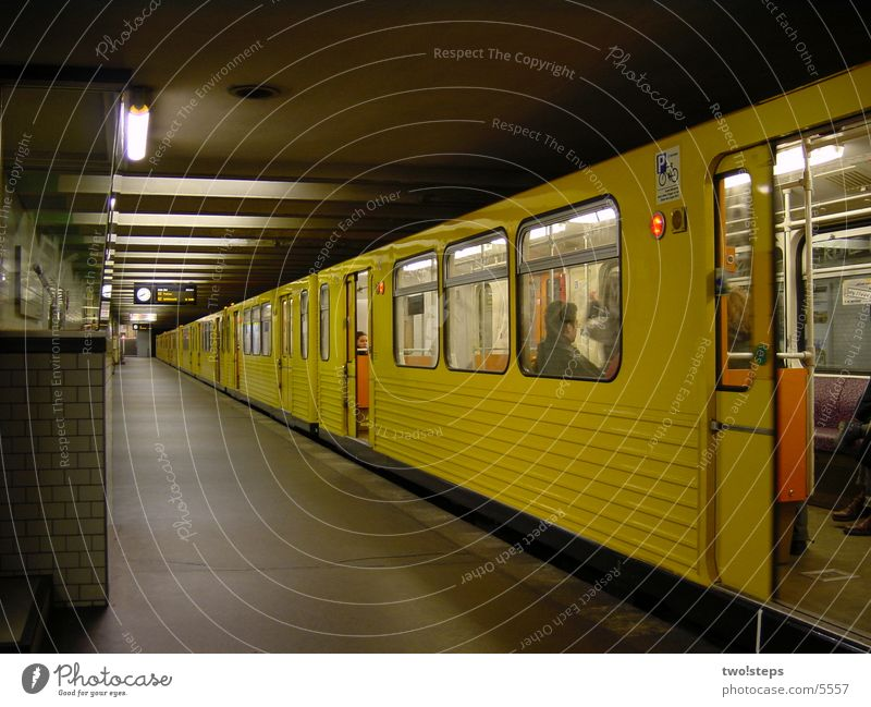 U-Bahn Kaiserdamm Mobilität