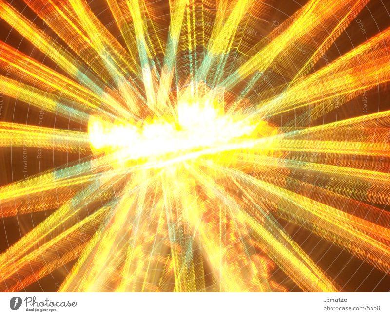 Lichtrad Silvester u. Neujahr Explosion Riesenrad