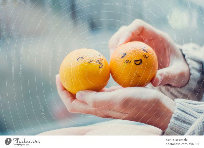 Weihnachtsfreude Lebensmittel Orange Dekoration & Verzierung Feste & Feiern Weihnachten & Advent Herbst Küssen Lächeln Liebe ästhetisch lecker saftig süß gelb