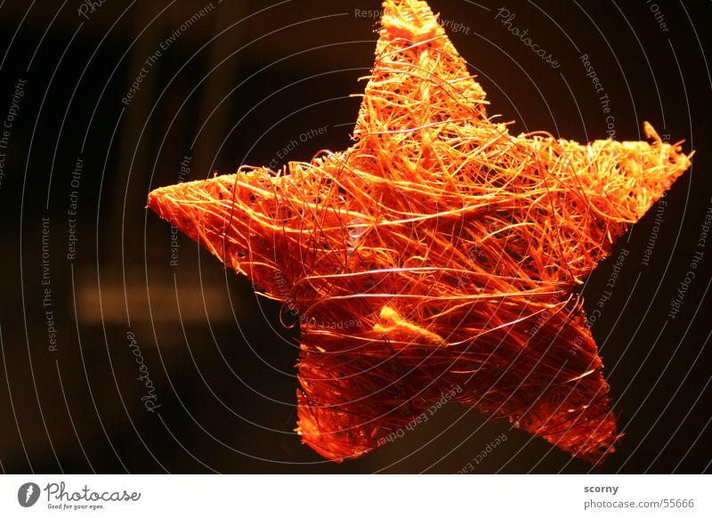 Sternstunde am seidenen Faden Stern (Symbol) Nähgarn wickeln Mensch