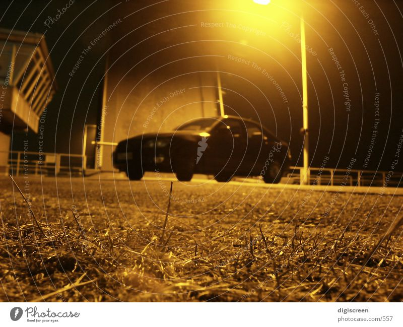 schattenparker PKW Verkehr Nacht Mysterium