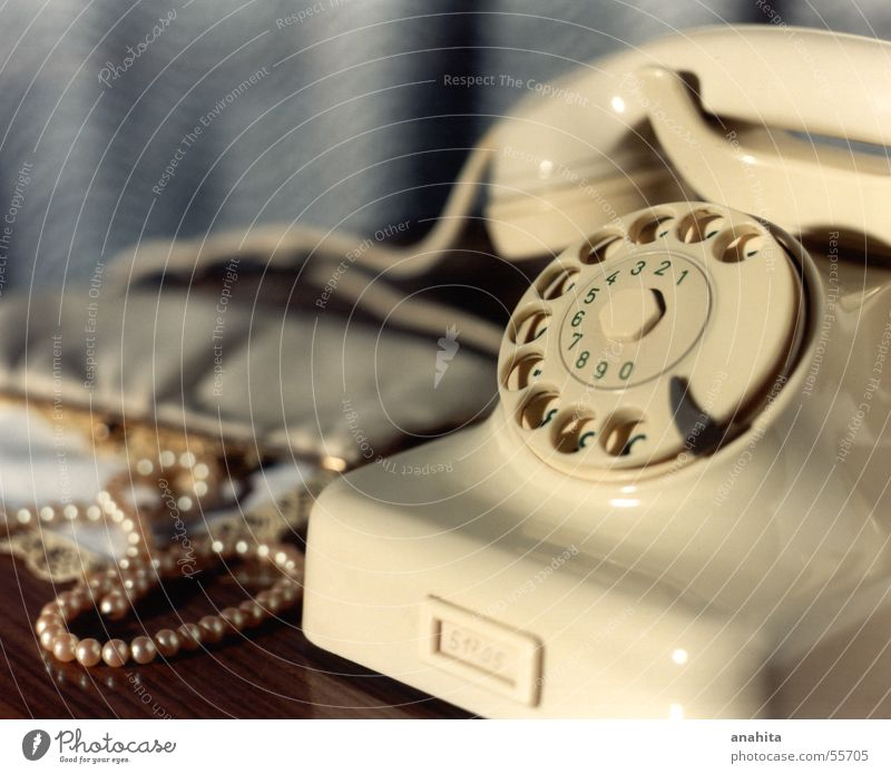 Telefon Telefon Nostalgie Sechziger Jahre früher Telekommunikation