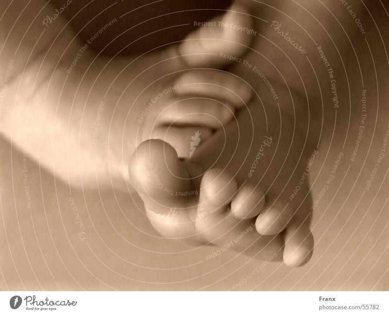 Füßeln Kind Fuß Baby Mensch Geburt
