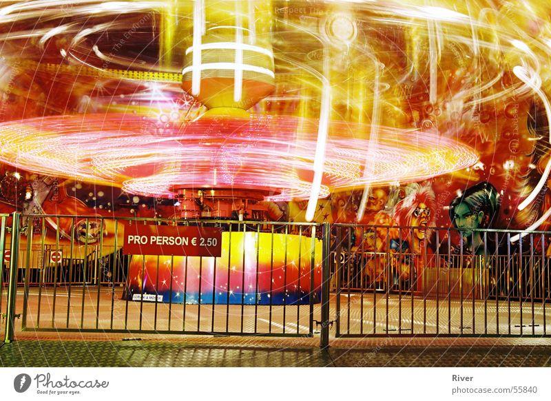 Wiener Prater mehrfarbig karussel