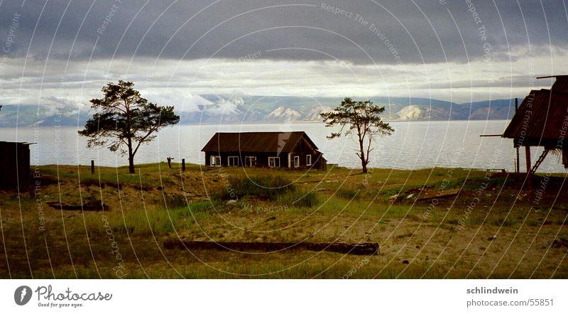 sibirische einsamkeit Baum Haus Einsamkeit Sibirien