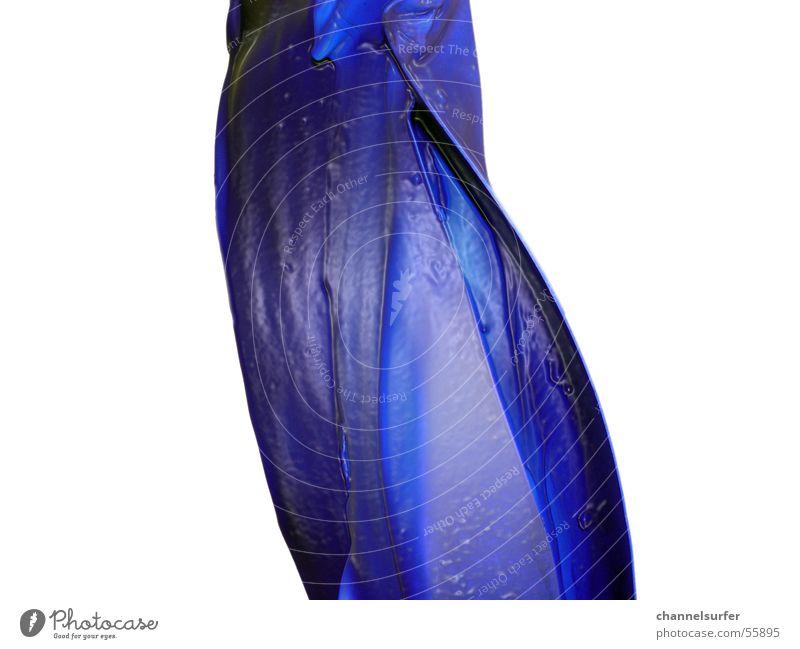 Blue Liquid blau Kunst Flüssigkeit Statue gekrümmt geschwungen Lapislazuli