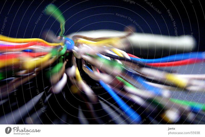 High speed connect Draht Anschluss mehrfarbig Medien Elektrisches Gerät Technik & Technologie Internet Kabel Farbe jarts