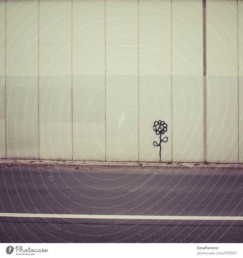 happybirthdayphotocase | urban flora Kunst Kunstwerk Natur Pflanze Frühling Sommer Herbst Blume Blatt Blüte Grünpflanze Stadt Bauwerk Gebäude Mauer Wand Fassade
