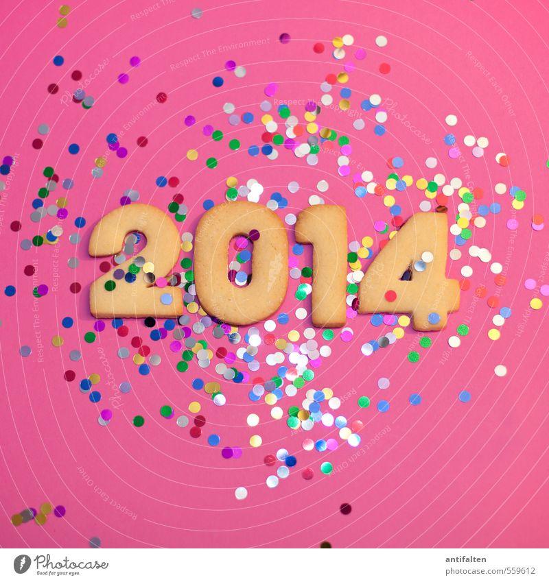 Vorfreude Lebensmittel Teigwaren Backwaren Plätzchen Ernährung Kaffeetrinken Party Feste & Feiern Karneval Silvester u. Neujahr Geburtstag