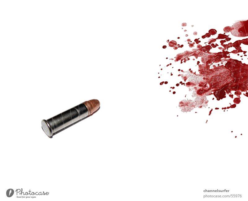 Bullet Time Bildart & Bildgenre Mörder Pistole Gewehr Patrone Kugel Blut Tod