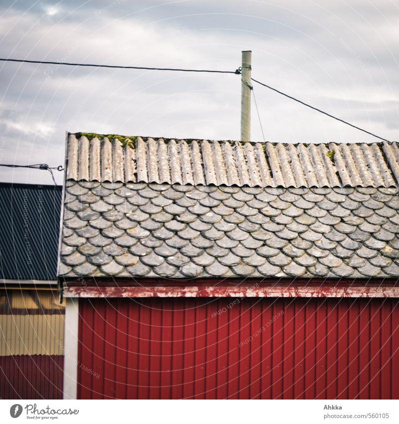 201 Teile rot Haus Wand Mauer Stimmung authentisch Kommunizieren Dach Lebensfreude Hütte Konzentration Verfall Kontrolle Teamwork eckig selbstbewußt