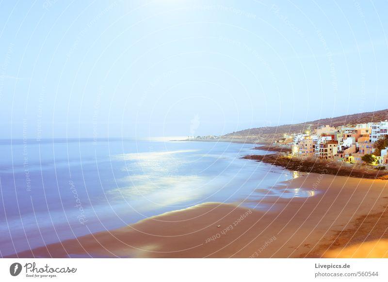 irgendwo anders.... Himmel Natur Ferien & Urlaub & Reisen Wasser Sommer Sonne Meer Landschaft Haus Strand Umwelt Küste Freiheit Wellen Tourismus Ausflug