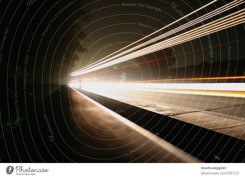 faster Autobahn Nacht Geschwindigkeit