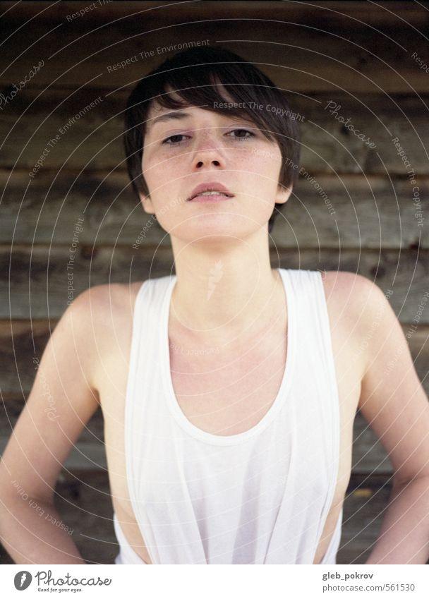Dokument #xxl elegant Stil schön Haare & Frisuren Haut Gesicht Mensch feminin Junge Frau Jugendliche Kopf Brust Frauenbrust 1 18-30 Jahre Erwachsene Mode