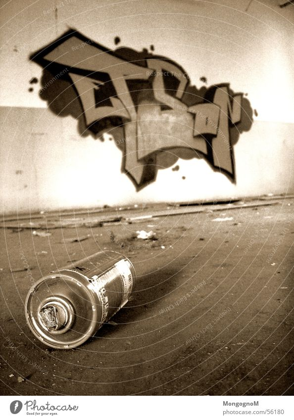 Writerstuff pt.3 Wand Dose Farbdose graffity take Graffiti