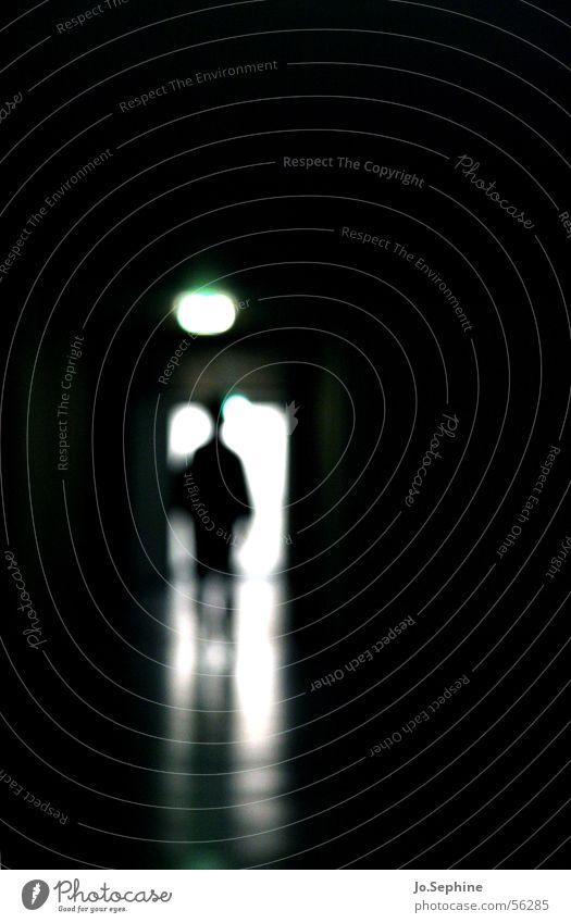Seelenmord... - Impression Pflegeheim III Mensch Einsamkeit dunkel einzeln trist Flur Isoliert (Position) Gang Patient unheimlich unklar Lichteinfall