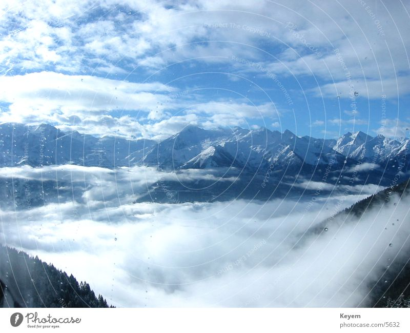 Berge... Winter Winterurlaub Berge u. Gebirge Schnee Tal