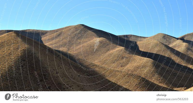Nepal IV Umwelt Landschaft Erde Sand Himmel Wolkenloser Himmel Sonnenlicht Schönes Wetter Wärme Hügel Felsen Berge u. Gebirge Gipfel Ferne Natur