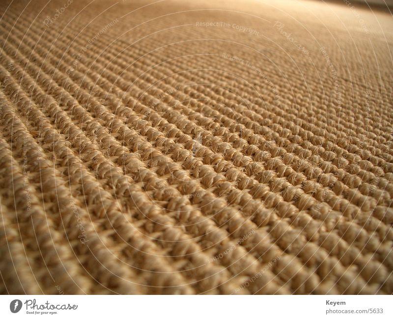 Der Teppich (?) Bodenbelag Stoff Teppich Holzfaser