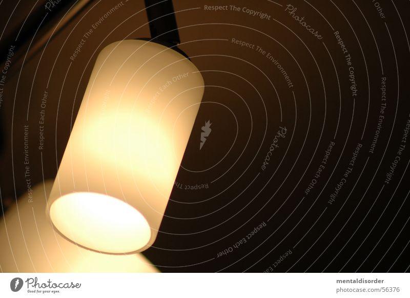 LampenStudie vol.1 Licht Leuchter Glühbirne rund schwarz dunkel Elektrisches Gerät Haushalt Striptease Illumination Kraft Decke Scheinwerfer Abend Kabel Stab