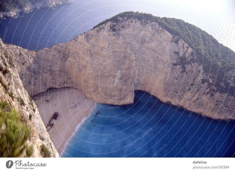 """Zakynthos, Strand mit Wrack """"Navagio"""" Meer Küste Felsen Insel Griechenland Wasserfahrzeug Schiffswrack Zakinthos Wrack Navagio"""