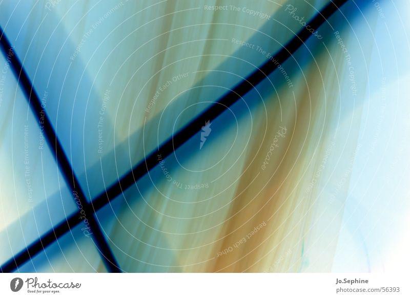 crossing blue blau Farbe Bewegung Linie Design leuchten durchsichtig fließen beige innovativ Lichtspiel Illusion kreuzen gekreuzt Farbenspiel durchscheinend