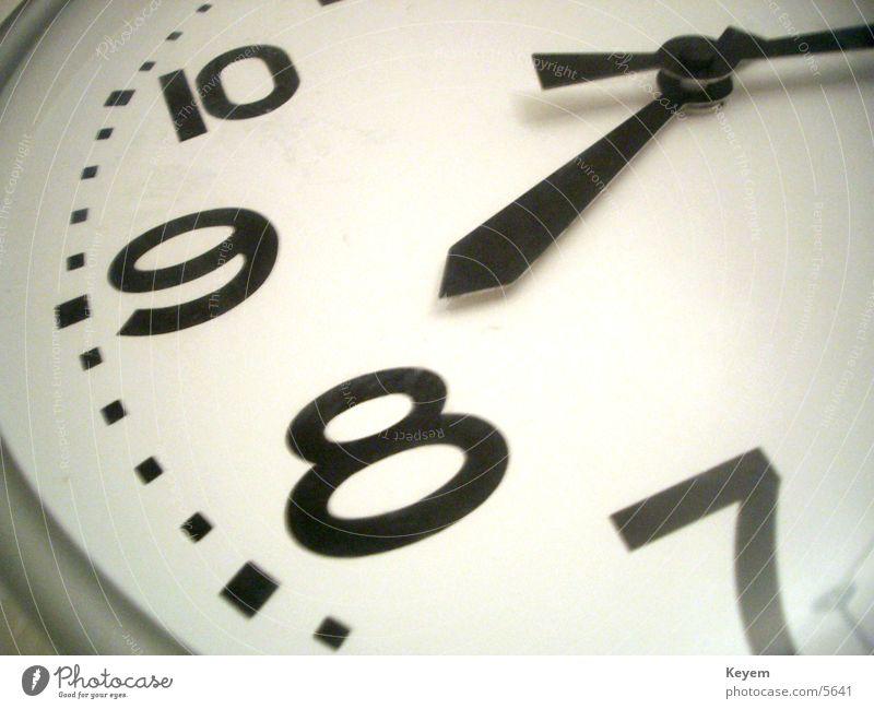 Kurz nach prime time Uhr Uhrenzeiger 8 Wanduhr Elektrisches Gerät Technik & Technologie Analoguhr Business Zeit