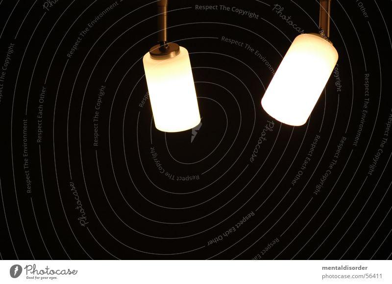 LampenStudie vol.3 Licht Leuchter Glühbirne rund schwarz dunkel Elektrisches Gerät Haushalt Striptease Illumination Kraft Decke Scheinwerfer Abend Kabel Stab
