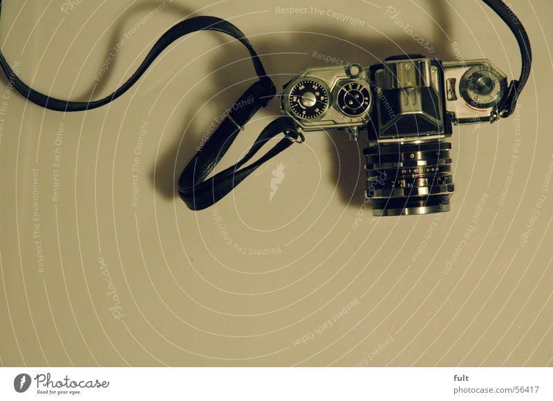 edixa reflex solide Fotokamera Stil altmodisch analog Reflexion & Spiegelung edixa-mat mod c Metall tragegurt