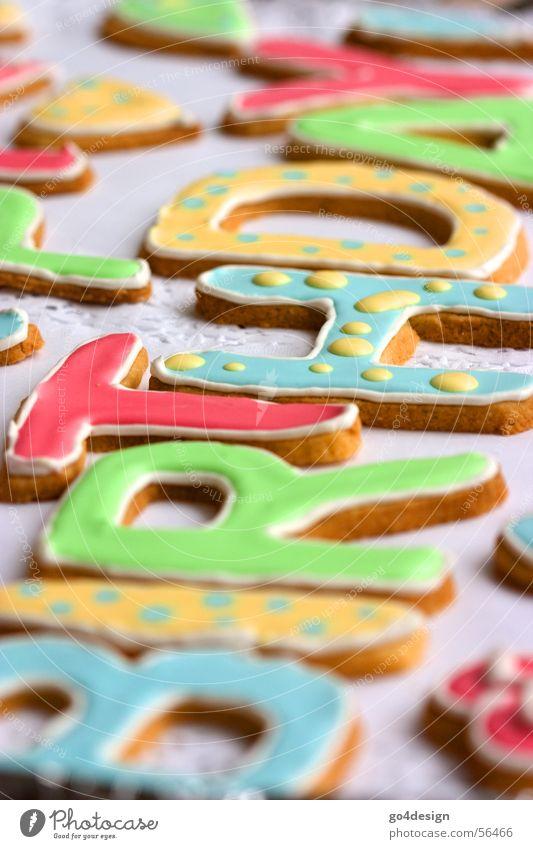 Happy Birthday grün rot gelb Feste & Feiern Regen Torte Geburtstag Kuchen Ernährung Kochen & Garen & Backen süß Buchstaben lecker Jubiläum türkis Glückwünsche