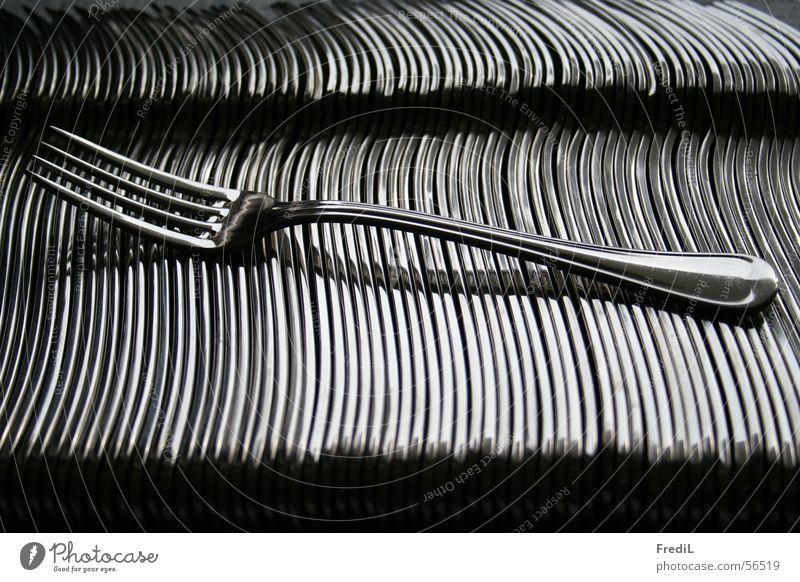 Gabel Küche silber Besteck