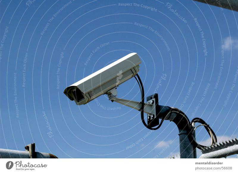 observation II Glas Sicherheit beobachten Klarheit Fotokamera Publikum Nachbar Überwachung spionieren Überwachungskamera