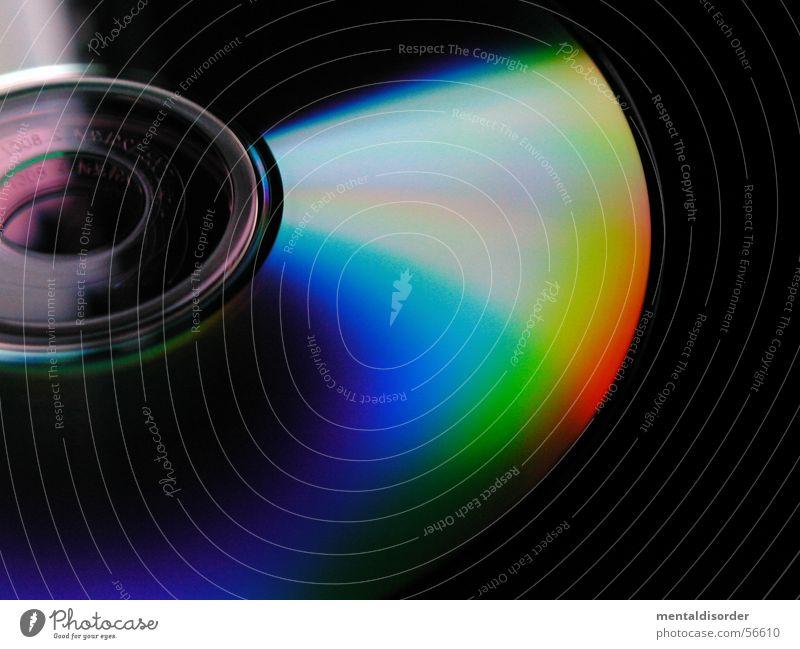 flache Farbspiele DVD-ROM lesen brennen Regenbogen rund Brand Compact Disc Information MP3-Player Musik stereo schreiben Arbeit & Erwerbstätigkeit burn