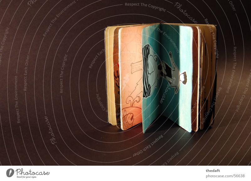 Logbuch hell Beleuchtung Kunst Buch Netzwerk Handwerk Gemälde Zeichnung Kunsthandwerk Medien Tagebuch Logbuch