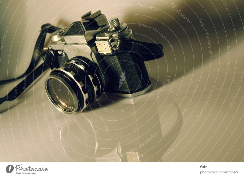 edixa reflex Stil Metall Fotokamera analog altmodisch solide