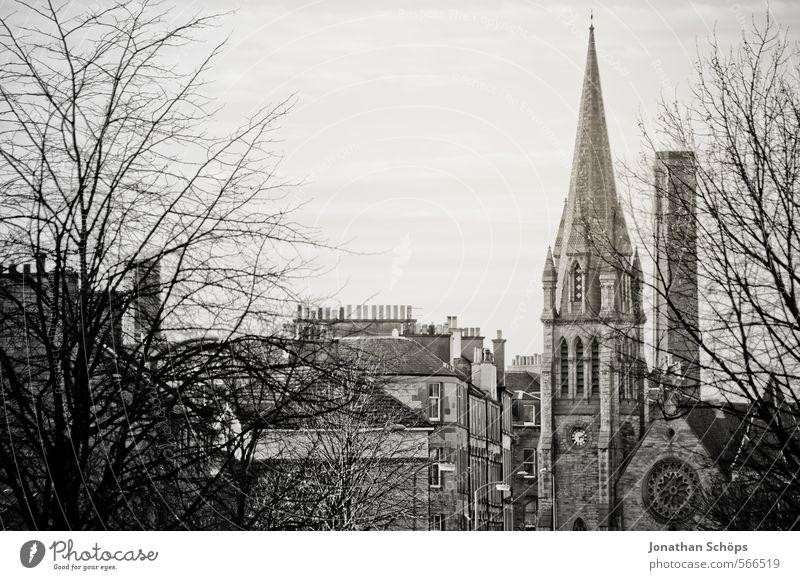 Edinburgh XI Stadt Baum Haus Winter Herbst Architektur Gebäude Religion & Glaube Fassade ästhetisch Kirche Dach viele historisch Bauwerk Skyline