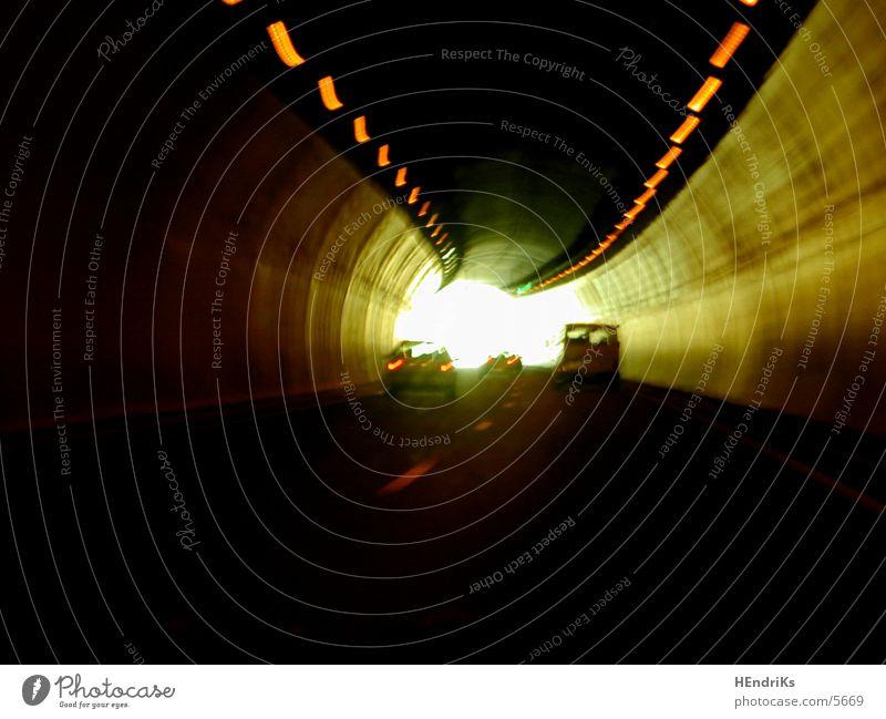 tunnel Straße PKW Beleuchtung Tunnel