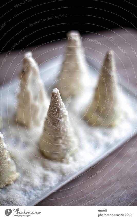 Winterwald Weihnachten & Advent weiß außergewöhnlich Ernährung süß Süßwaren lecker Weihnachtsbaum Schokolade Dessert Fingerfood Slowfood