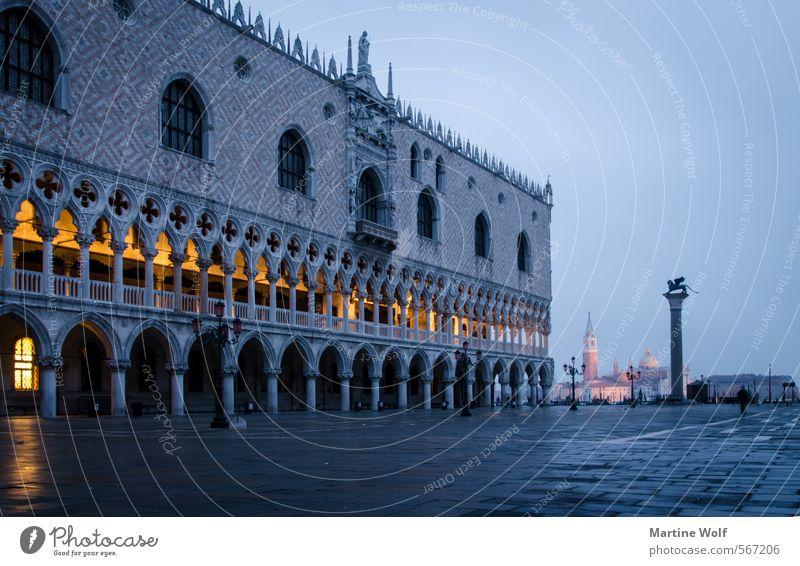 Piazetta di San Marco Venedig Italien Europa Dorf Stadt Stadtzentrum Haus Platz Sehenswürdigkeit Dogenpalast Ferien & Urlaub & Reisen San Marco Basilica