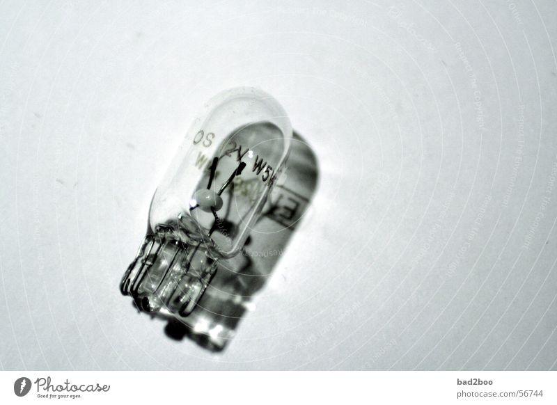 Standlicht Lampe Glas Draht Glühbirne