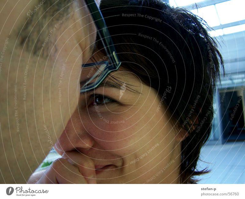 Geborgenheit Frau schön Stimmung Denken Haare & Frisuren Gesicht Blick