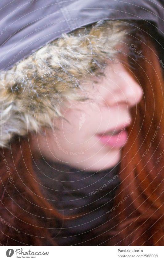 Closer Mensch Frau Jugendliche schön Erholung ruhig 18-30 Jahre Gesicht Erwachsene Umwelt feminin Stil Gesundheit Lifestyle Haare & Frisuren Kopf