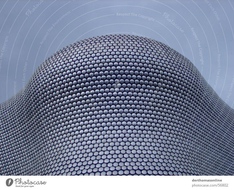 holiday shopping Himmel blau Wolken grau Gebäude hoch groß modern mehrere Kreis Macht rund einzigartig viele Punkt